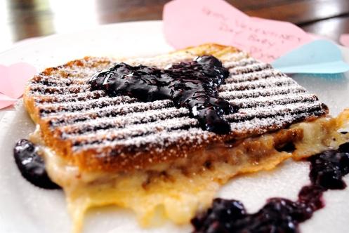 valentine's monte cristo panini